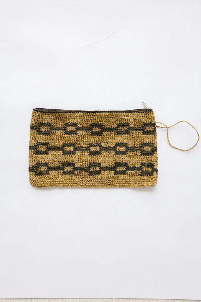 Litoral Woven Clutch #0335
