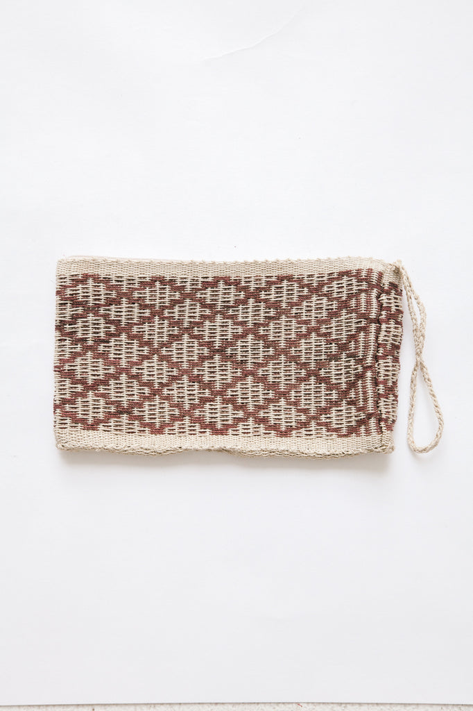 Litoral Woven Clutch #0333
