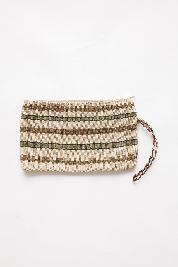 Litoral Woven Clutch #0327