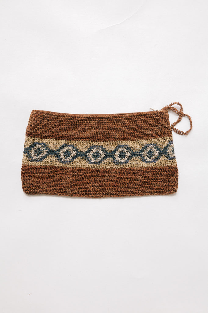 Litoral Woven Clutch #0348