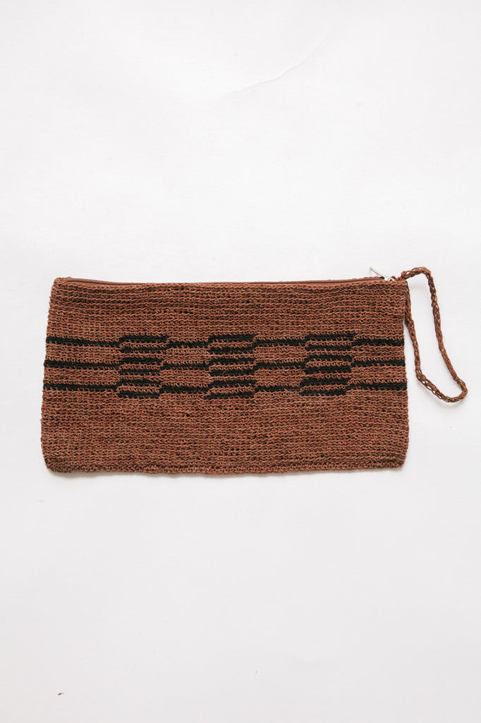 Litoral Woven Clutch #0336
