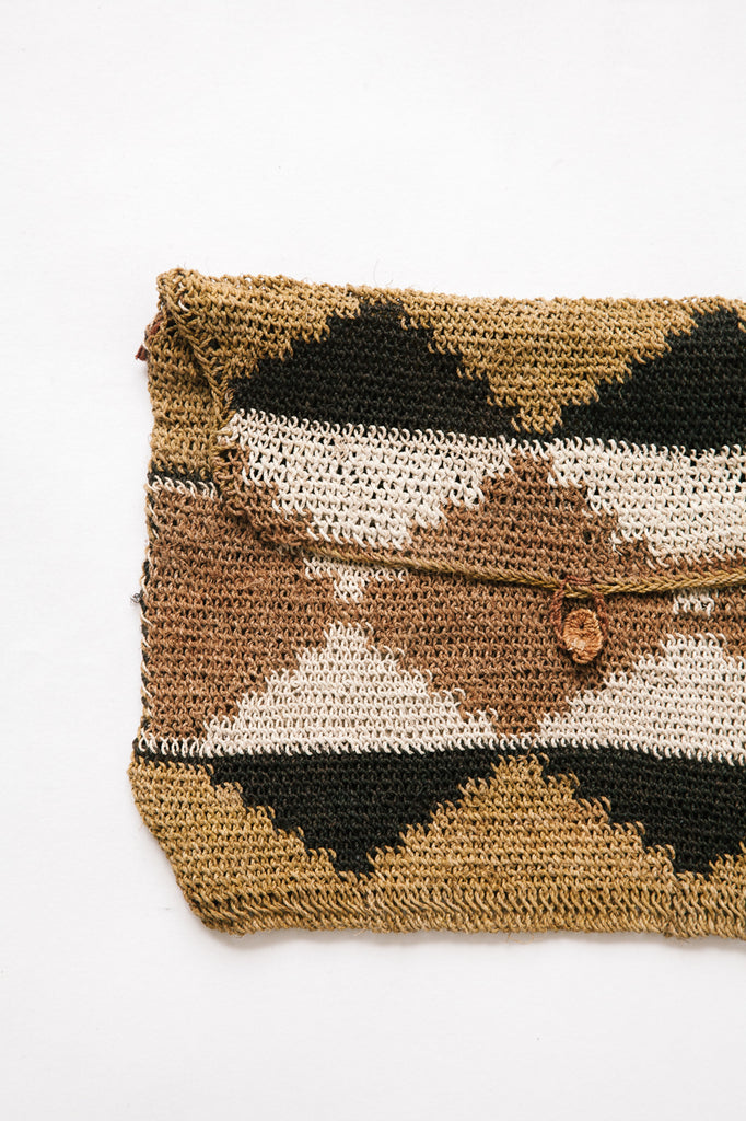 Litoral Woven Clutch #0344