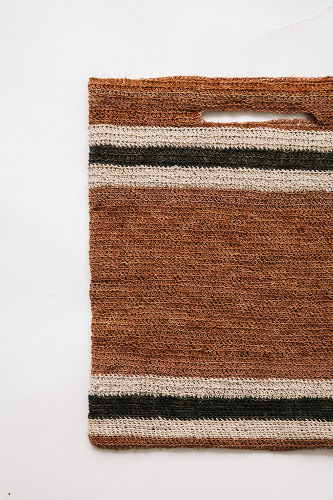 Litoral Woven Clutch #0367