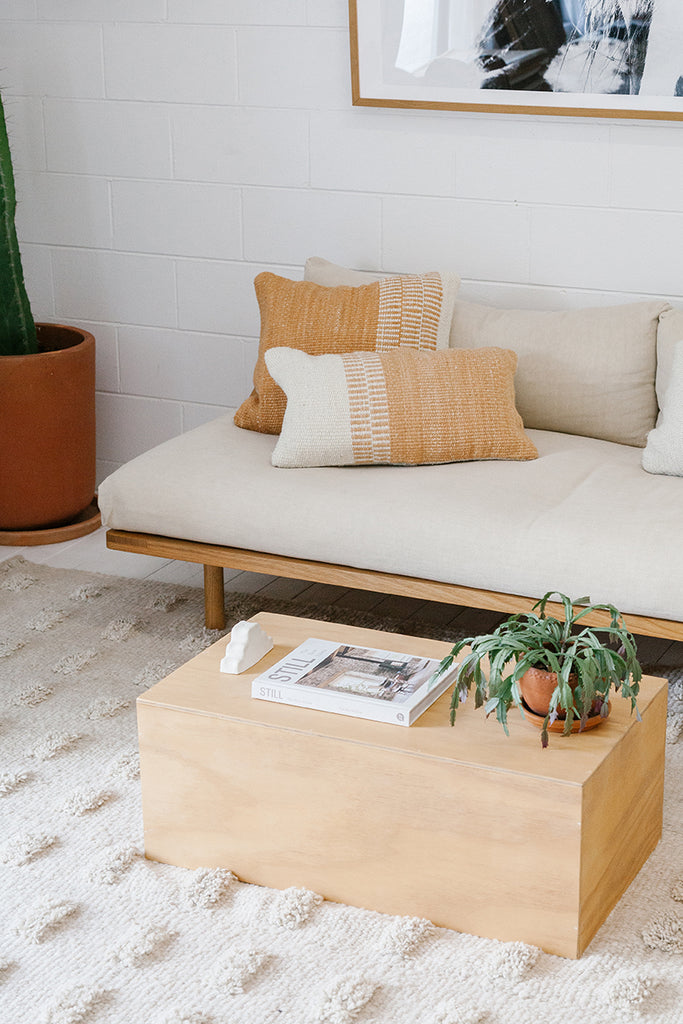 Monte Lumbar Cushion #17 | Desert & Natural