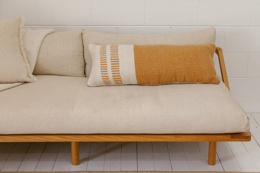 Monte Lumbar Cushion #17 XL | Desert & Natural