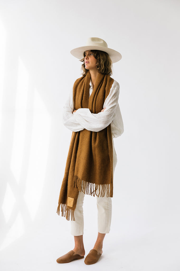 Pampa Scarf | Tobacco