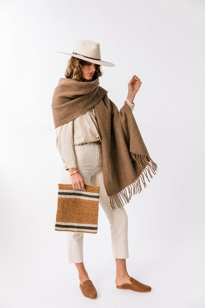 Puna Oversized Scarf | Earth