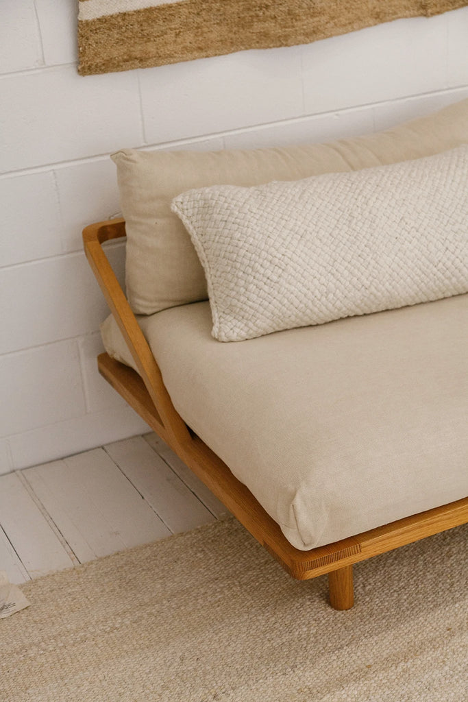 Monte Lumbar Cushion #7 XL | Natural