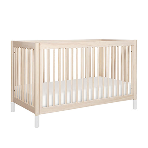 Babyletto Gelato Cot & Dresser Nursery Package - Washed Natural with White Feet