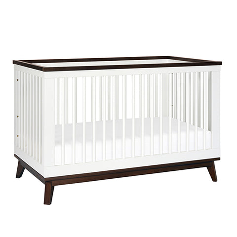 Babyletto - Scoot 3 in 1 Cot - White/Walnut