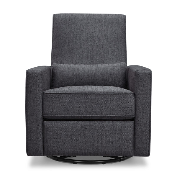 Piper - Recliner + Swivel Glider - Midnight Grey - Pre-order