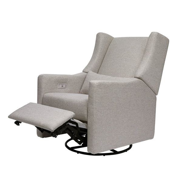 Kiwi – Electronic Recliner + Swivel Glider with USB Port in Grey – Pre-Order