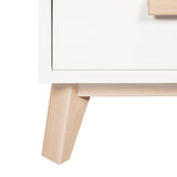 Babyletto - Scoot 3 Drawer Changer / Dresser - White/Washed Natural