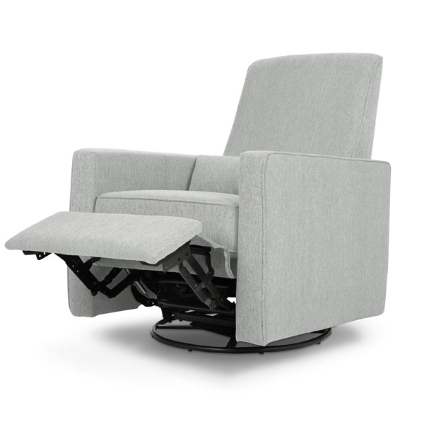 Piper - Recliner + Swivel Glider - Cloud Grey