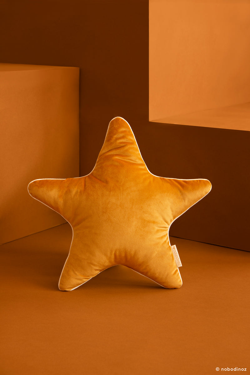 Aristote Star Cushion in Yellow - Pre-order Now