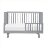 Babyletto Hudson Cot & Dresser Nursery Furniture Package - Grey