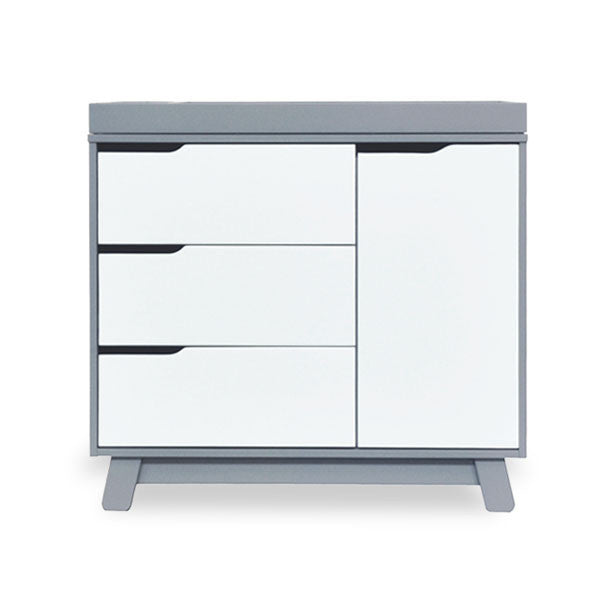 Babyletto - Hudson Changer / Dresser - Grey & White
