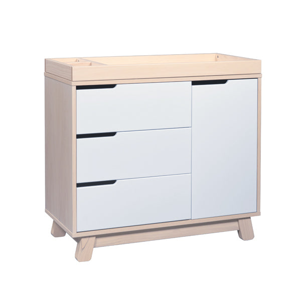 Babyletto - Hudson Changer / Dresser - Washed Natural/White