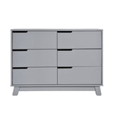 Babyletto - Hudson Dresser 6 Drawer - Grey