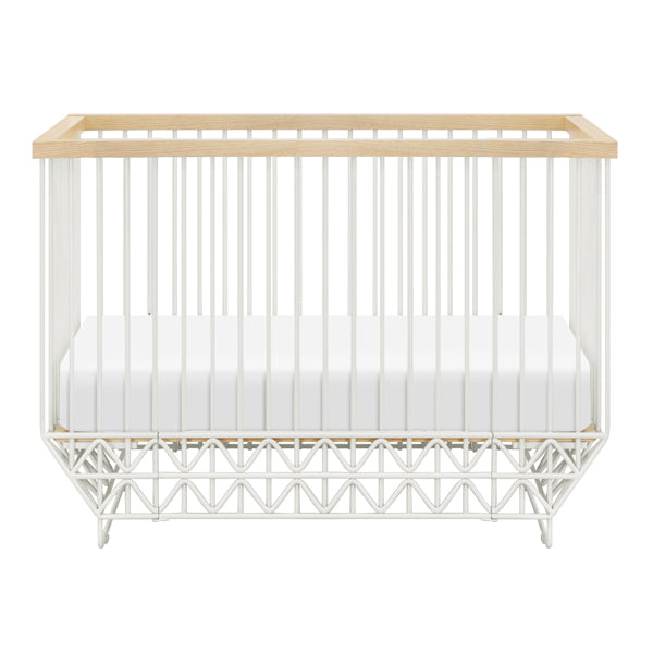 Ubabub - Mod Cot - White and Natural
