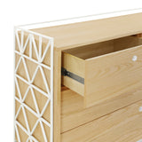 Ubabub - Mod Dresser - White and Natural