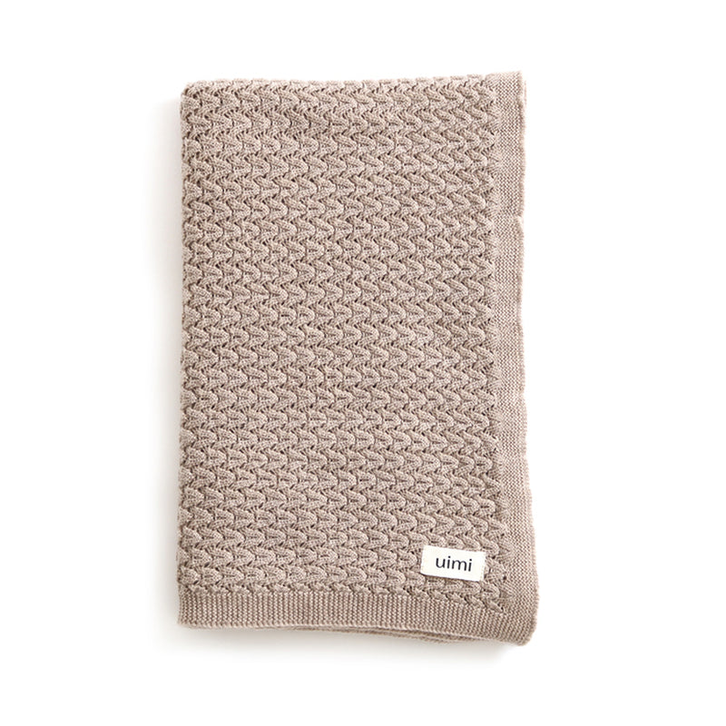 Ruby Cot Blanket – Wheat
