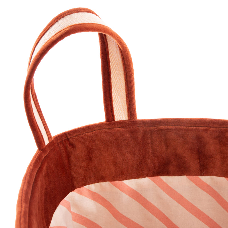 Savanna Velvet Toy Bag - Wild Brown