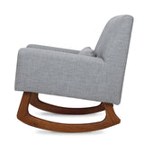 Sleepytime Rocker – Ash with Walnut Legs (All new fabric and colourway)