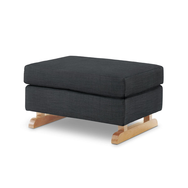Perch Foot Stool – Coal with Light Legs