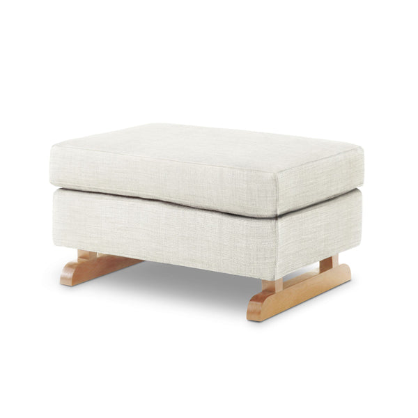 Sleepytime Rocker & Perch Stool Combo - Oatmeal with light legs