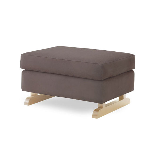 Perch Foot Stool – Slate with Light Legs