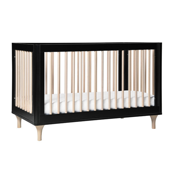 Babyletto Lolly Cot & Dresser Nursery Package - Black