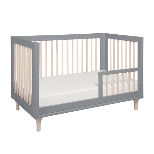 Babyletto - Lolly Cot - Grey & Washed Natural