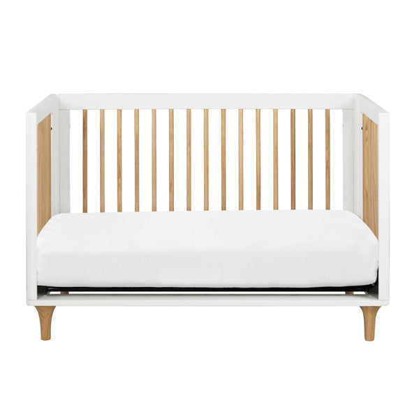Babyletto - Lolly Cot - White & Natural