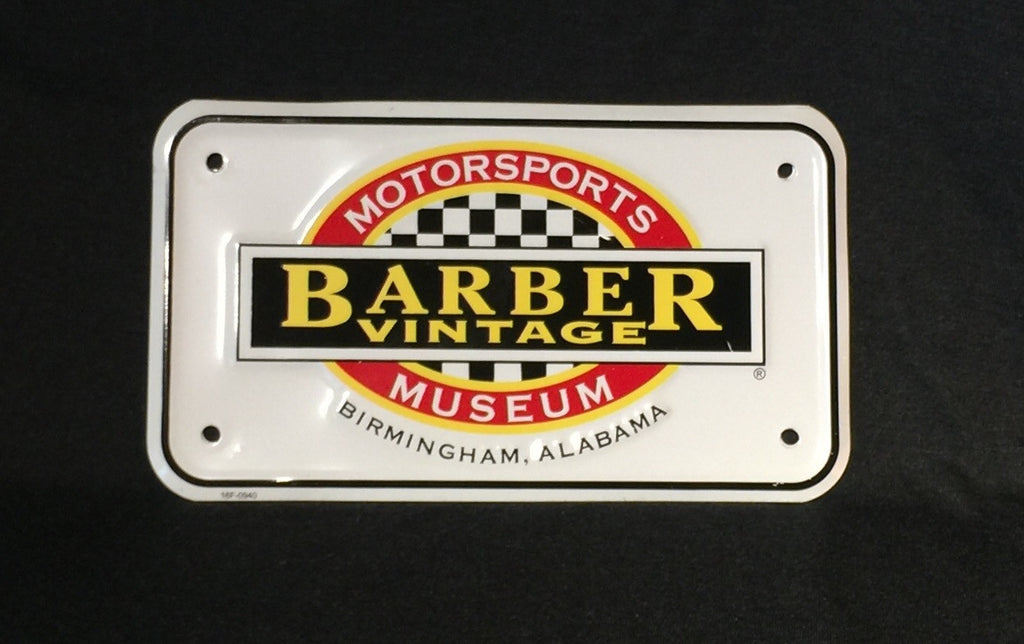 Motorcycle Tag- Museum