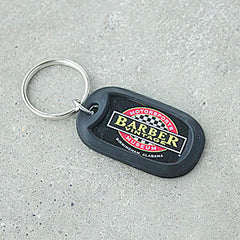 Dome Keychain with Bumper