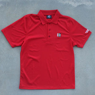 Track Polo Red
