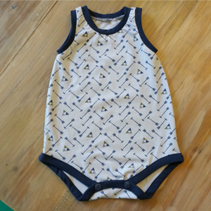 Emerie Romper without Elastic Casing + Neckband Measurements (Perfect for the Boys!)
