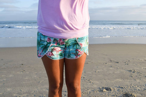 Coachella Shorts Pattern Women XS-XXL