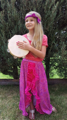 Festival Skirt Pattern 2T-14yrs