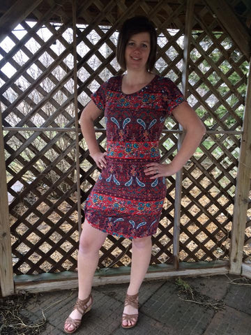 Harbor Knot Dress PDF Pattern Women XS-XXXL