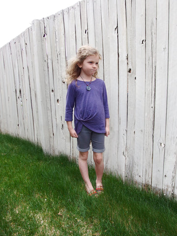 Harbor Knot PDF Pattern Girls 2T-14yrs
