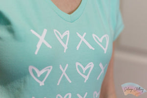 XOXO Digital Cut File