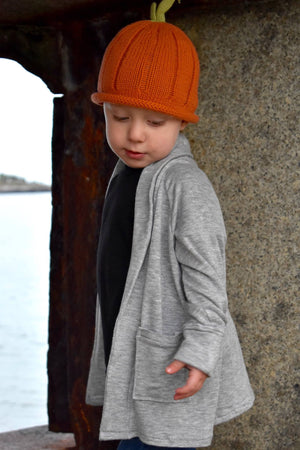 Lost Coast Cardigan PDF Pattern GIRLS 2T-14YRS