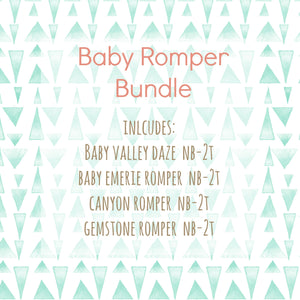 Baby Romper Bundle
