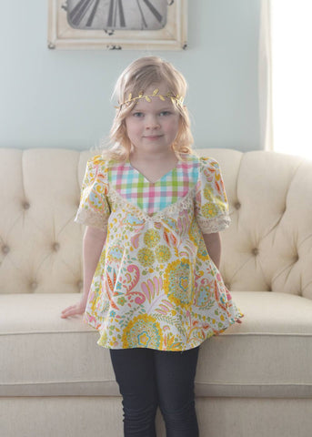 Wanderer Tunic Pattern 2T-14yrs