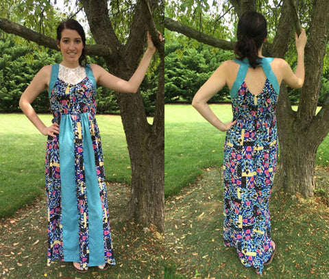 Soho Maxi Pattern Women XS-XL
