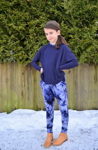Rhapsody Joggers PDF Pattern Girls 2T-14yrs