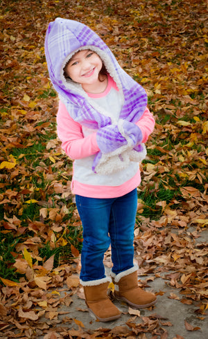 Wonderland Hooded Scarf PDF Pattern