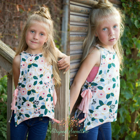 Moon Dance Tank PDF Pattern Girls NB-14yrs